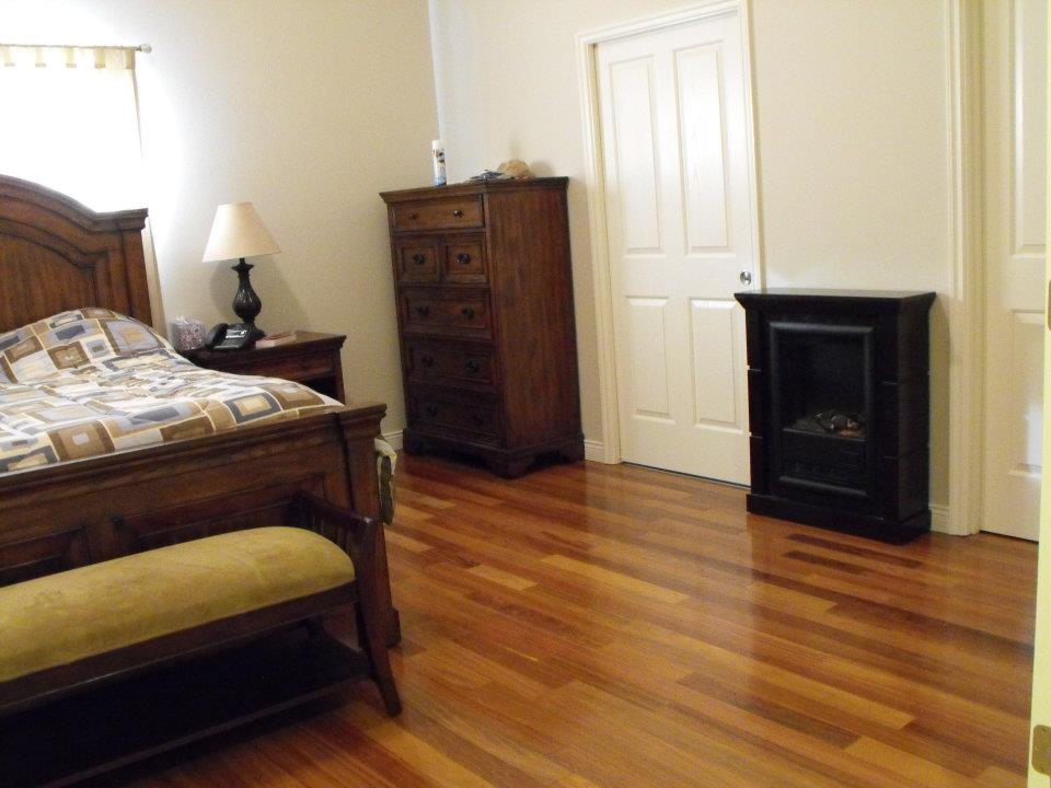 Teak Wood Flooring Install