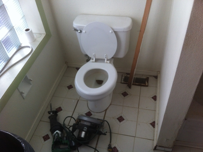 Before--Toilet